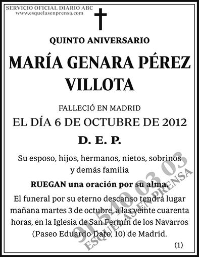 María Ganara Pérez Villota